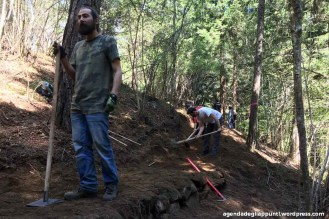 IMBA mtb trail building school val di sole