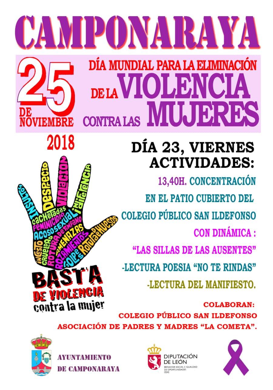 actos conmemorativos 25 de noviembre