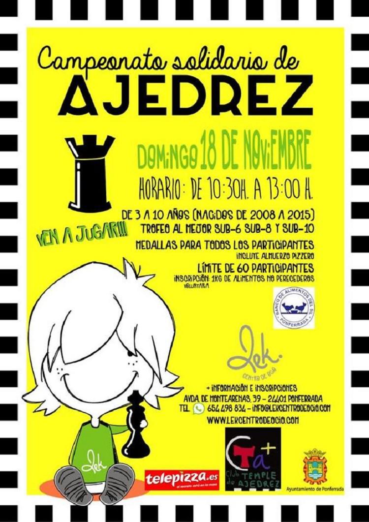 Campeonato Solidario de Ajedrez Ponferrada