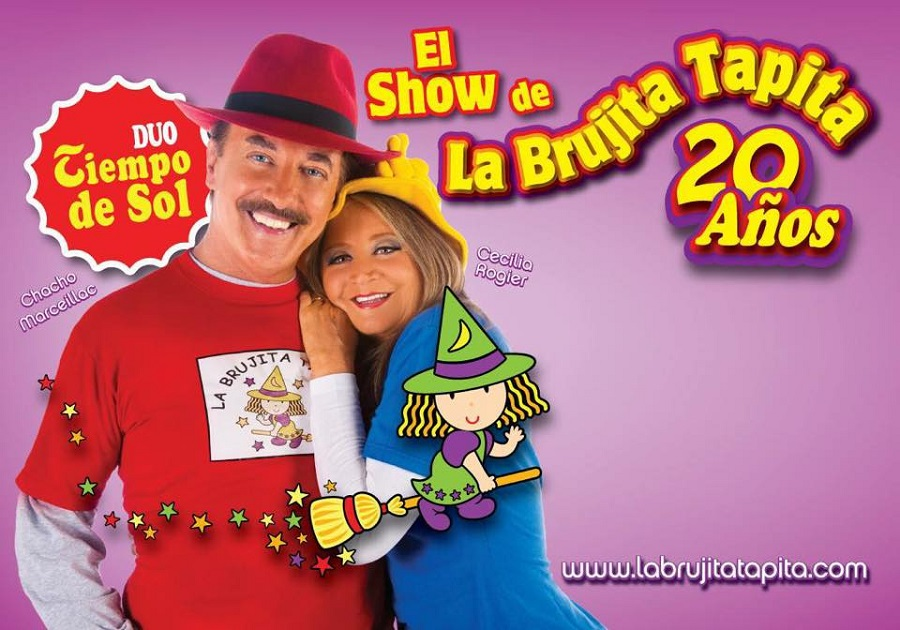 Espectáculo infantil Brujita Tapita Ponferrada Bergidum cartel