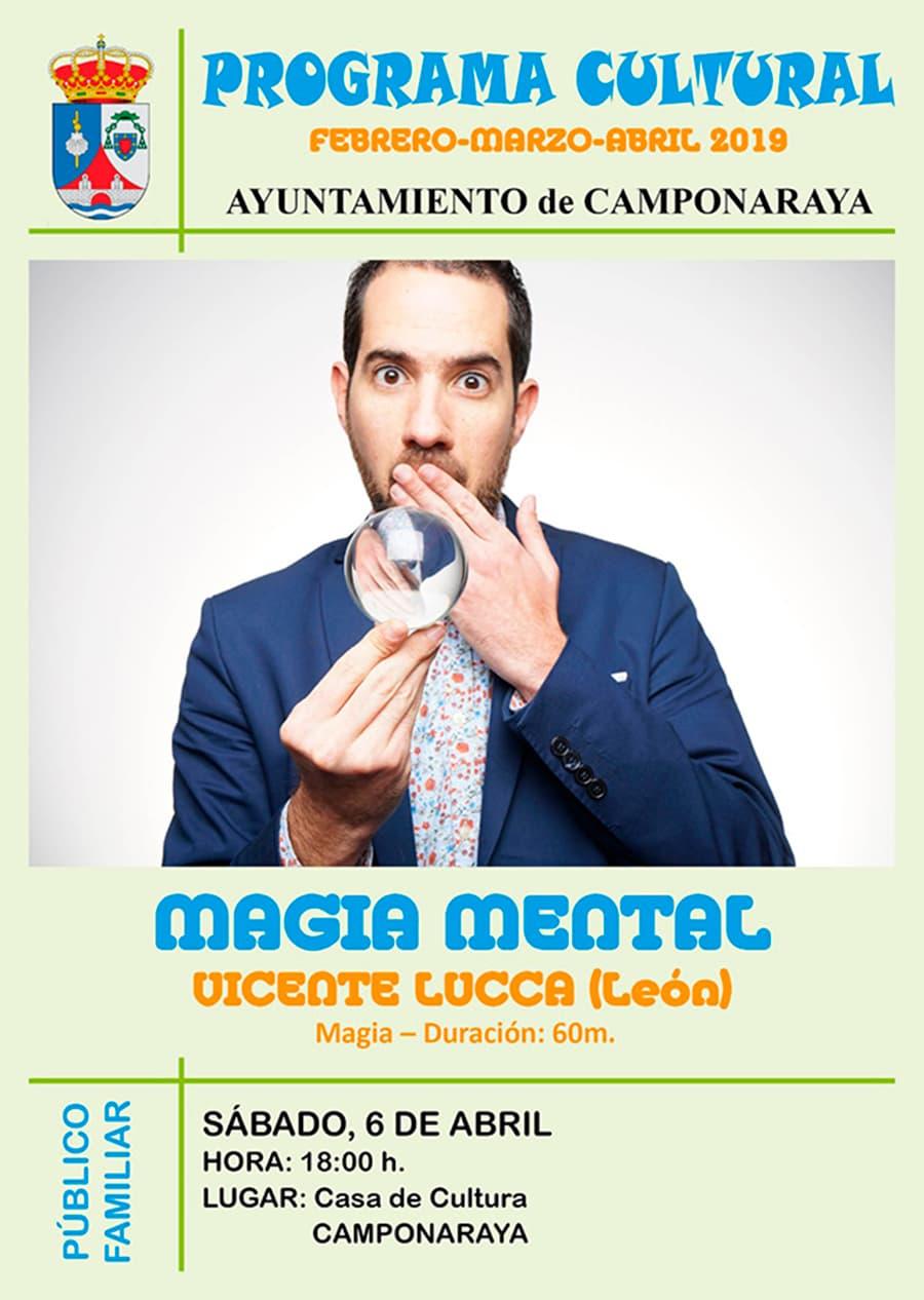 cartel magia mental camponaraya el bierzo