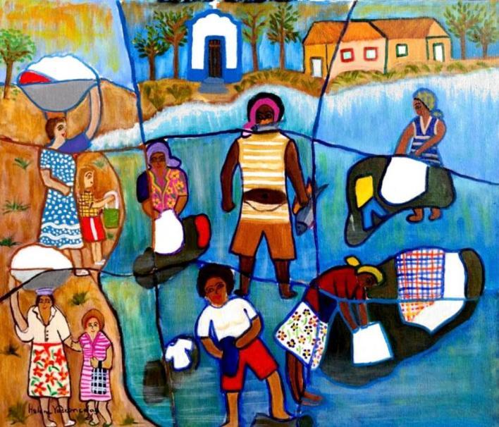 9º Festival Cultural do Brasil - Helena Vasconcelos Lavadeiras do Rio Bacalhau em Goias