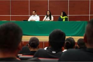 Cadetes del Instituto de Formación Profesional reciben capacitación en perspectiva de género