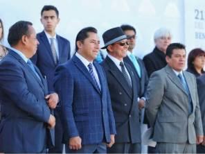 Mineral de la Reforma conmemora el natalicio de Benito Juárez 1