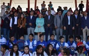Sayonara Vargas inaugura la Etapa Estatal de los Juegos Deportivos 3