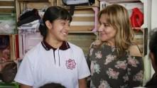 Sayonara Vargas visita la Escuela Secundaria Técnica 71 de Mineral de la Reforma2