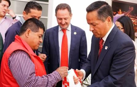 Inicia colecta anual de la Cruz Roja en el Comité Directivo Estatal del PRI4