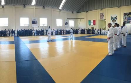 Judokas de 10 estados se concentran en el CEAR de cara a la Olimpiada Nacional4