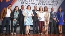 Segundo bloque de delegados rinden protesta en Mineral de la Reforma 2