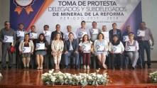 Segundo bloque de delegados rinden protesta en Mineral de la Reforma 3