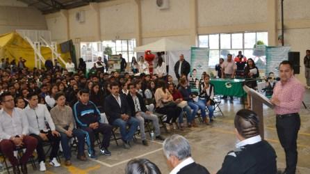 Tizayuca realiza con gran éxito la 1ra. Feria de Orientación Vocacional