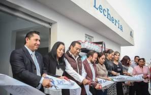 Encabeza Raúl Camacho reapertura de lechería LICONSA en La Providencia4