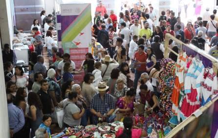 Récord de asistencia en la 5ª Expo de los Pueblos Indígenas3