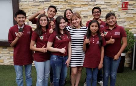 Convive Sayonara Vargas con participantes de la XVII Olimpiada Nacional de Matemáticas 3
