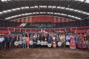 En Hidalgo, Campeonato Nacional Charro de la más alta calidad