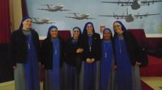 Hermanas de la orden Verbo Encarnado. (Foto: MVB)