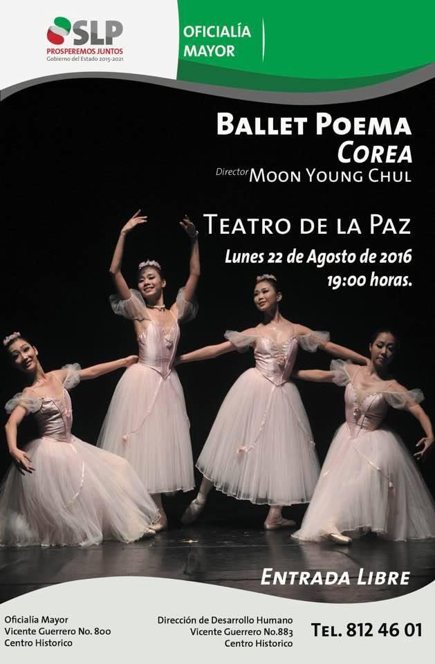 Ballet Poema de Corea del Sur