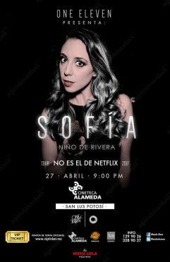 Sofia Niño de Rivera en San Luis Potosí