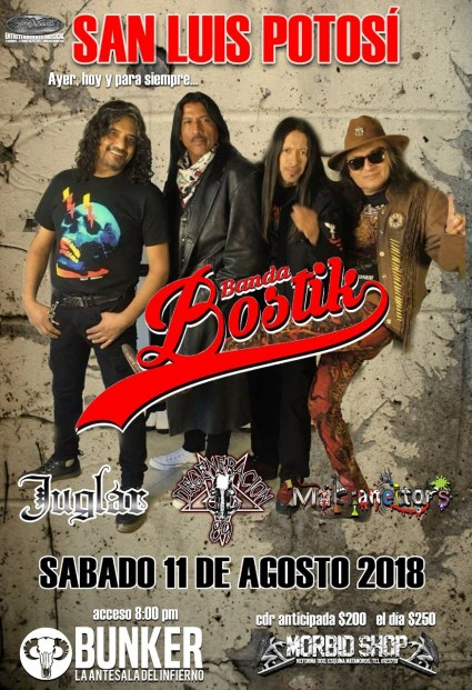 11 agosto Banda Bostik