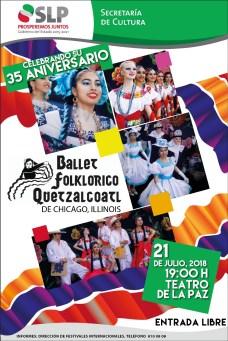 21 Julio Ballet Floklorico Quetzalcoatl