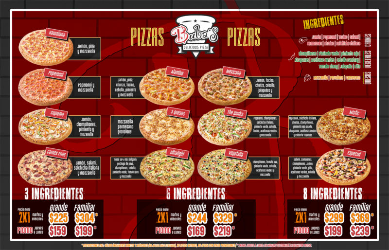 Buba's pizza SLP