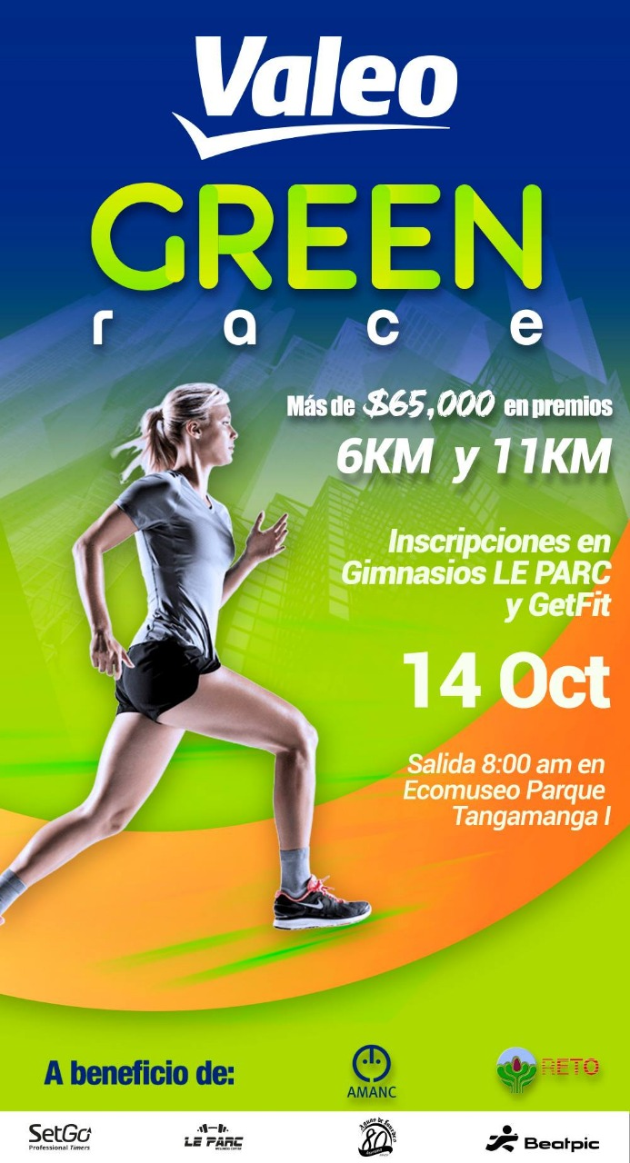 Valeo green race