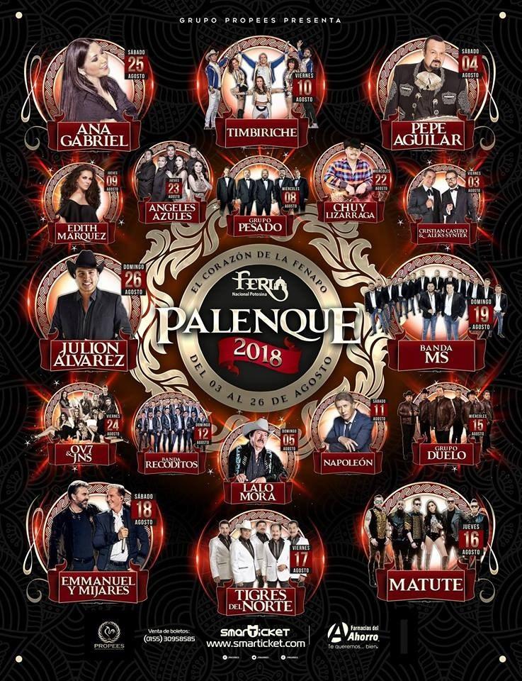 Palenque FENAPO 2018