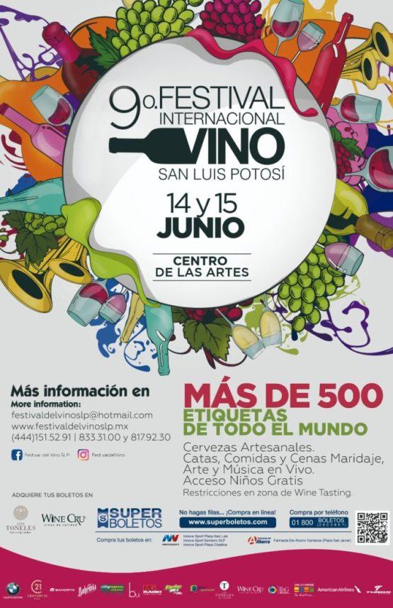 Festival del Vino SLP