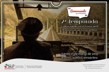 Museo Ferrocarril conversando