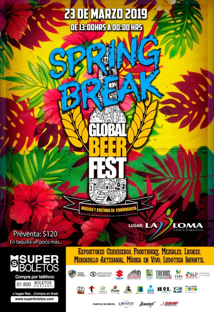 Global Beer Fest SPRING BREAK