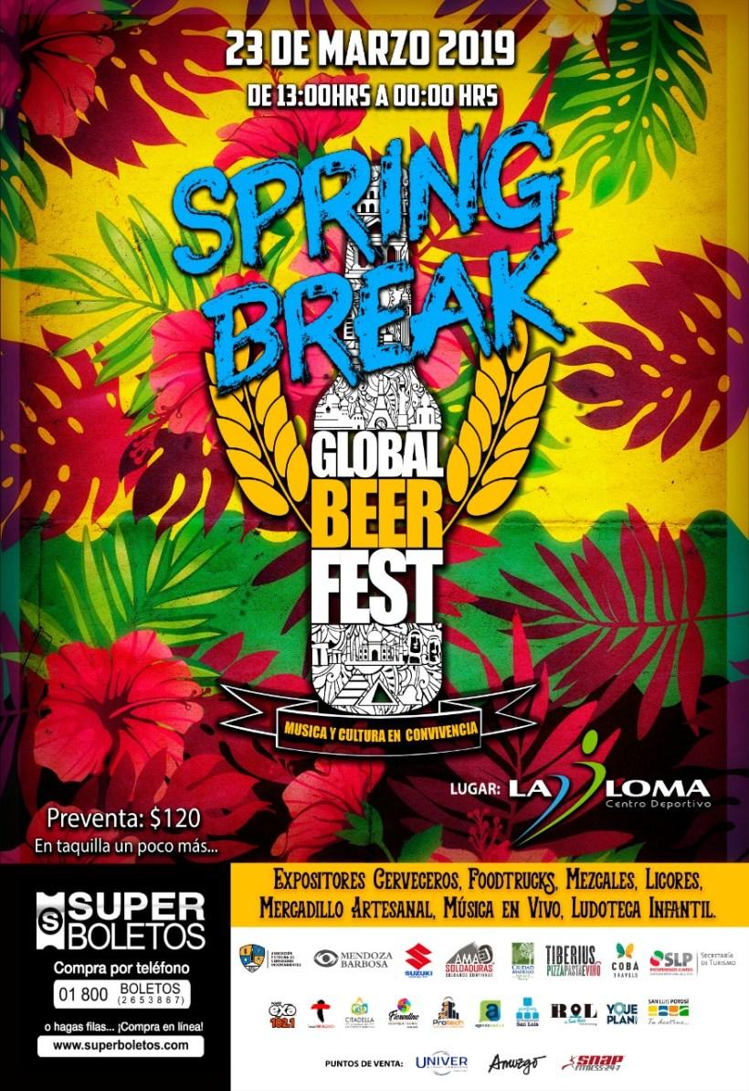 Global Beer Festival Spring Break