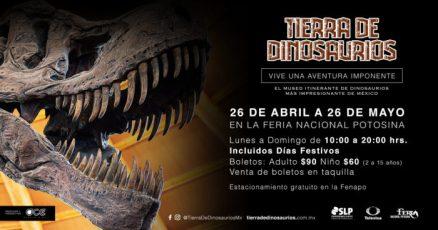 Tierra Dinosaurios SLP