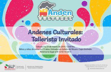 Anden Cultural Museo Ferrocarril