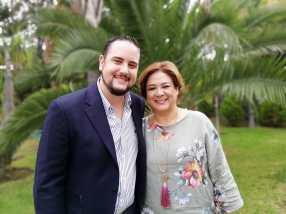 Lic. Gilberto Solis y Lic. Anaiza Esparza