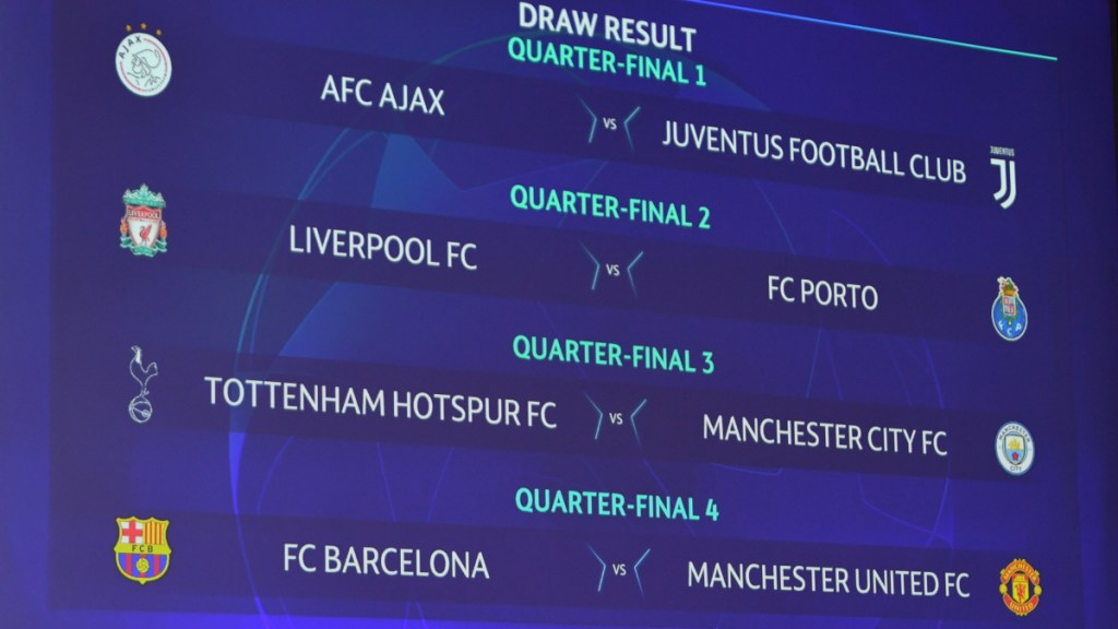 ¡Qué juegos! Así quedaron los cuartos de final de la Champions