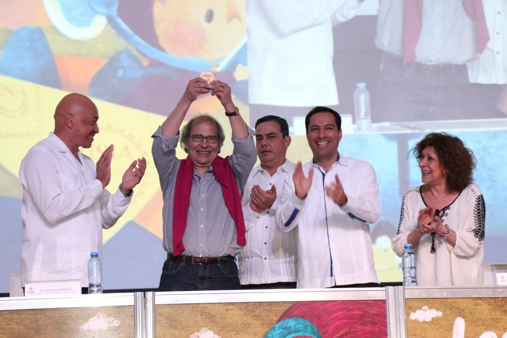 Inició la octava edición de la Feria Internacional de la Lectura Yucatán FILEY