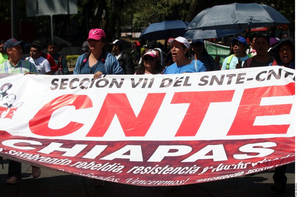 ¡Paro nacional y marchas! Así responde la CNTE ante inminente Reforma Educativa