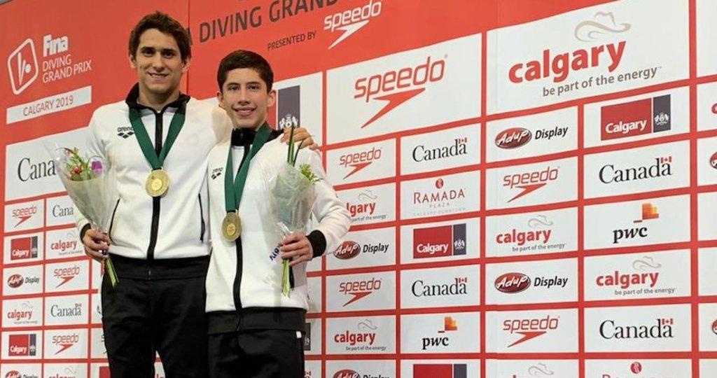 ¡Ganan Oro! Mexicanos triunfan en el Grand Prix de clavados en Canadá