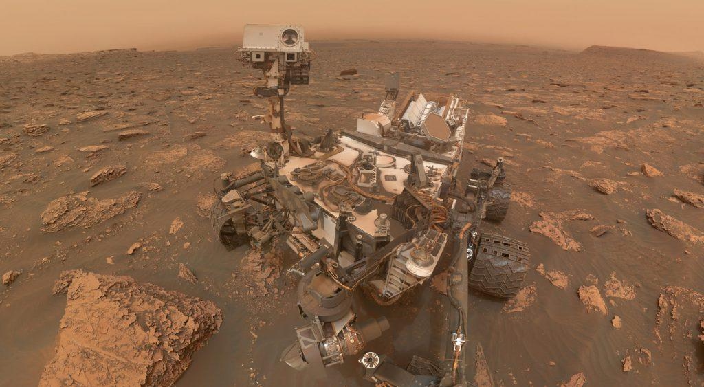 El Curiosity de la NASA encuentra signos de vida en Marte