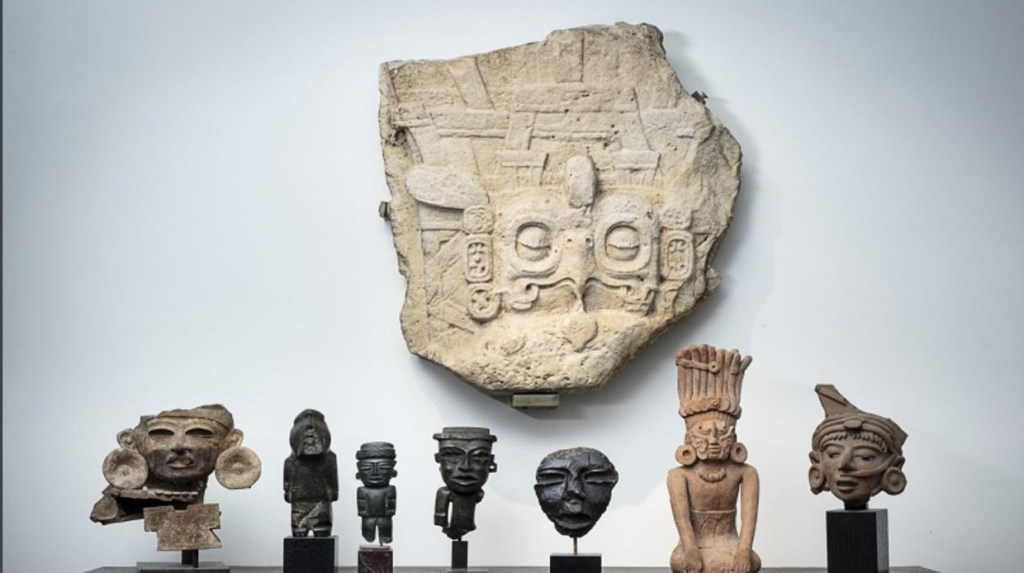 México pide a Francia cancelar subasta con patrimonio cultural prehispánico