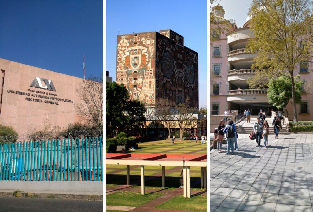 UAM, Tec de Monterrey y UNAM: las tres mejores universidades de México