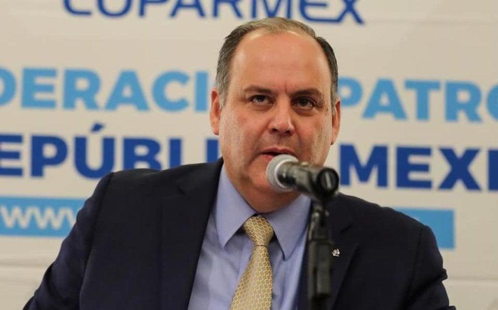 La Coparmex no es un partido político que no mienta el presidente: Gustavo de Hoyos