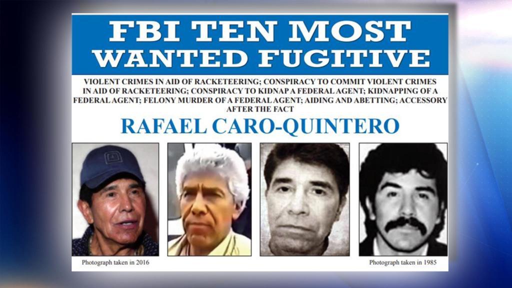 Estados Unidos busca incautar propiedades de Caro Quintero… después de lo ocurrido en Sinaloa