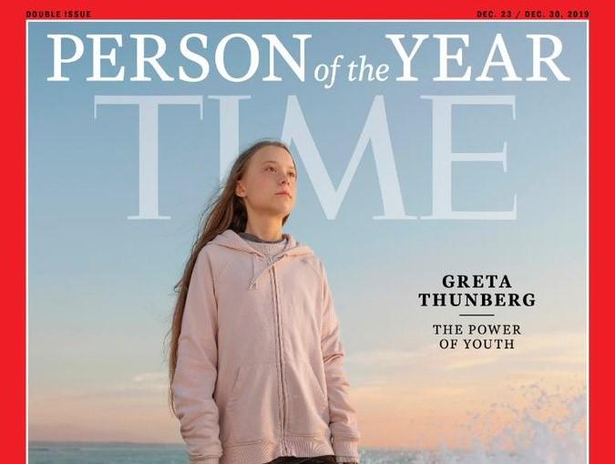 Greta Thunberg es el personaje del año para la revista Time