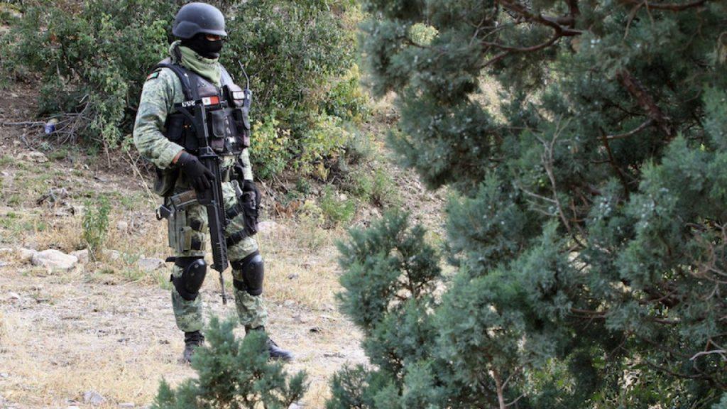 Descubre la Guardia Nacional túnel entre México y Estados Unidos