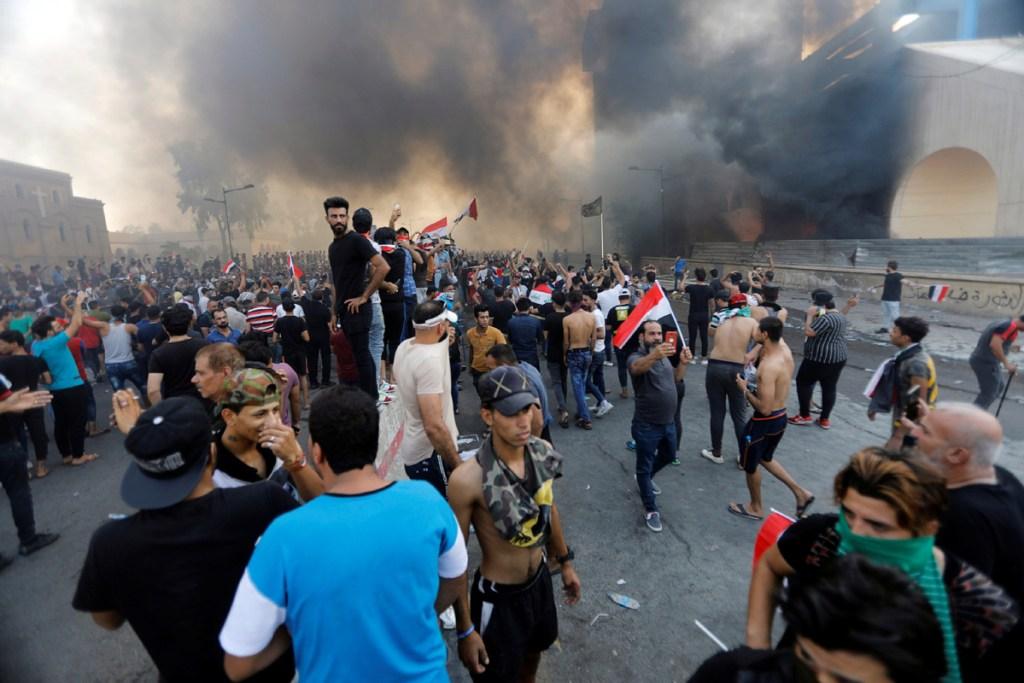 Impactan tres cohetes aéreos cerca de la Embajada de Estados Unidos en Irak