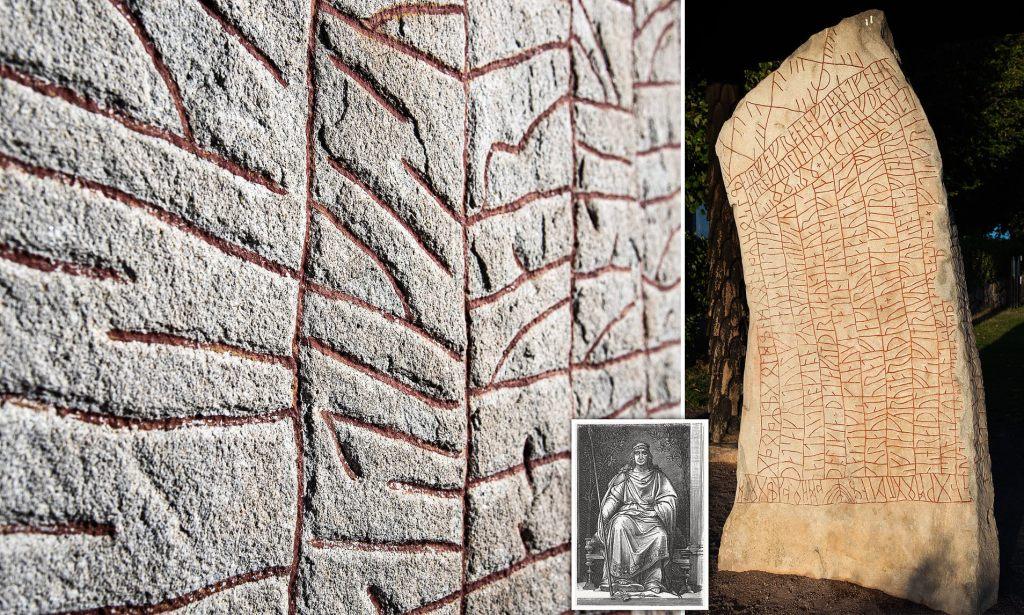 Los vikingos presagiaban el cambio climático así lo revelaría la milenaria Piedra de Rök