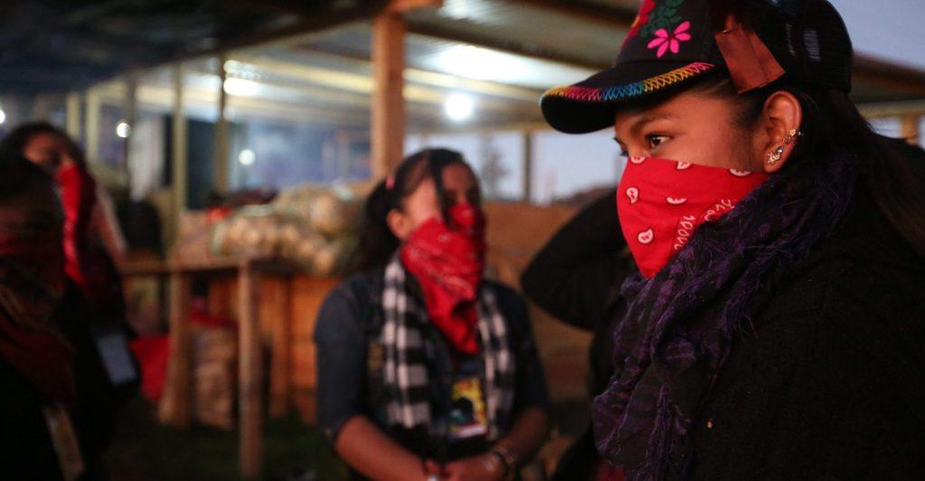 Estamos en guerra por vivir seguras y libres afirman mujeres zapatistas