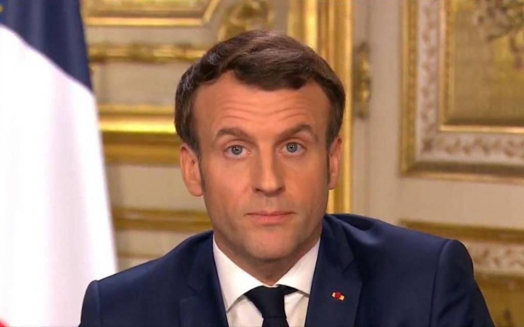 Macrón anuncia suspensión de cobros de agua, gas, electricidad y alquileres para apoyar a empresas francesas