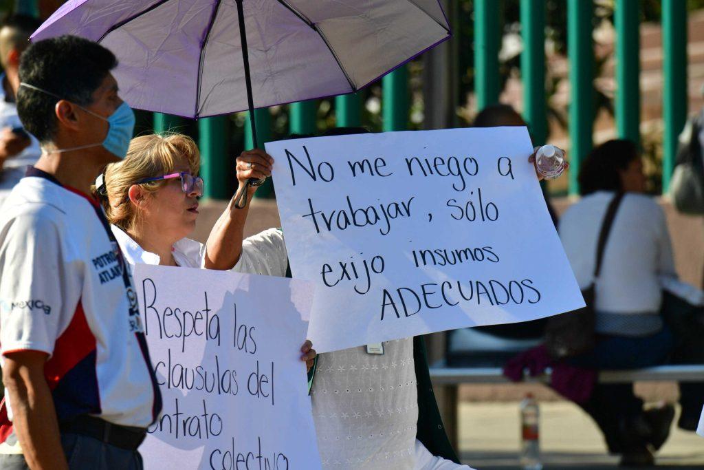 Advierten falta de insumos y de personal en unidades médicas para atender el Coronavirus en México